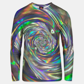 Thumbnail image of Holographic Unisex sweater, Live Heroes