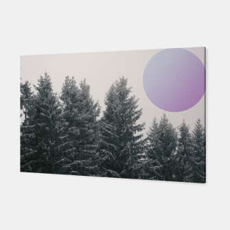 Miniatur Winter trees 2 Canvas, Live Heroes