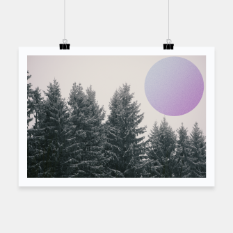 Miniatur Winter trees 2 Poster, Live Heroes