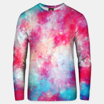 Thumbnail image of Galaxy red Unisex sweater, Live Heroes