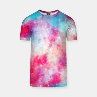 Thumbnail image of Galaxy red T-shirt, Live Heroes