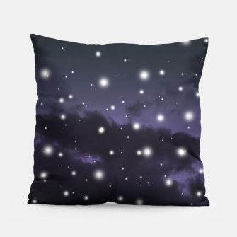 Thumbnail image of Purple Midnight Blue Cosmos Dream #1 #decor #art Kissen, Live Heroes