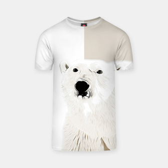 Miniature de image de polar ice bear vector art  T-shirt, Live Heroes