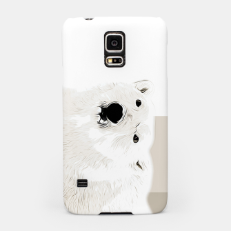 Miniature de image de polar ice bear vector art  Samsung Case, Live Heroes