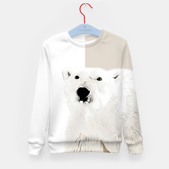 Miniature de image de polar ice bear vector art  Kid's sweater, Live Heroes