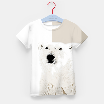 Miniature de image de polar ice bear vector art  Kid's t-shirt, Live Heroes
