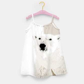Miniature de image de polar ice bear vector art  Girl's dress, Live Heroes