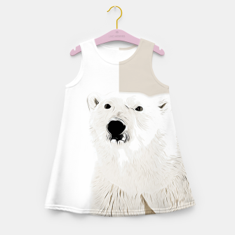 Miniature de image de polar ice bear vector art  Girl's summer dress, Live Heroes