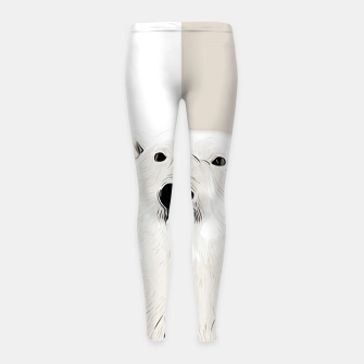 Miniature de image de polar ice bear vector art  Girl's leggings, Live Heroes