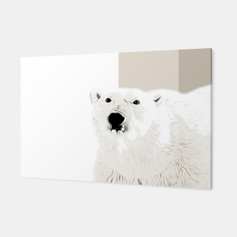 Miniature de image de polar ice bear vector art  Canvas, Live Heroes