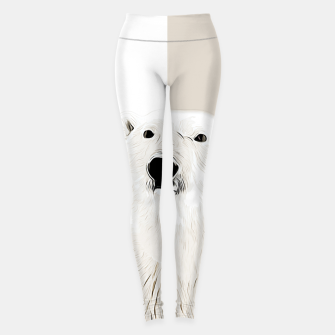 Miniature de image de polar ice bear vector art  Leggings, Live Heroes