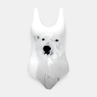 Miniature de image de polar ice bear vector art white Swimsuit, Live Heroes