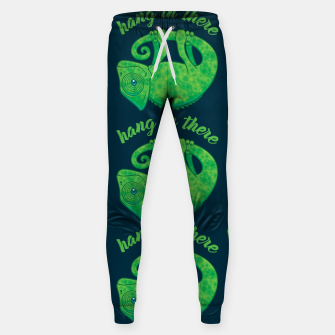 Miniatur Hang In There Magical Chameleon Sweatpants, Live Heroes