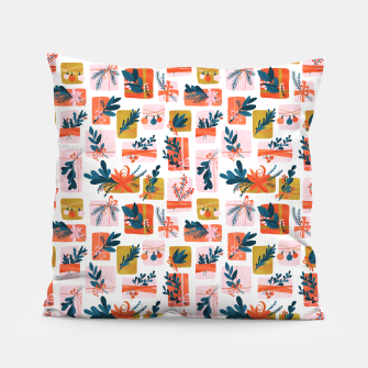Thumbnail image of Gift Box Pillow, Live Heroes