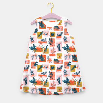 Miniatur Gift Box Girl's summer dress, Live Heroes