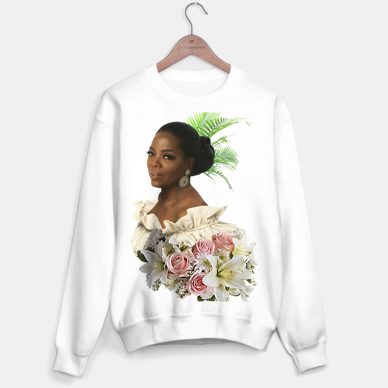 Image of Mrs O Flowers Sweater regular - Live Heroes