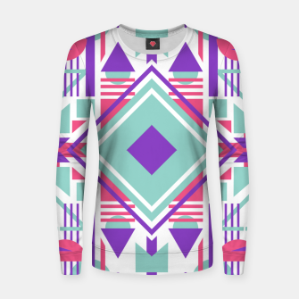 Thumbnail image of Tech Ethnic 08 Women sweater, Live Heroes