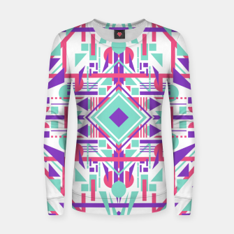 Thumbnail image of Tech Ethnic 09 Women sweater, Live Heroes