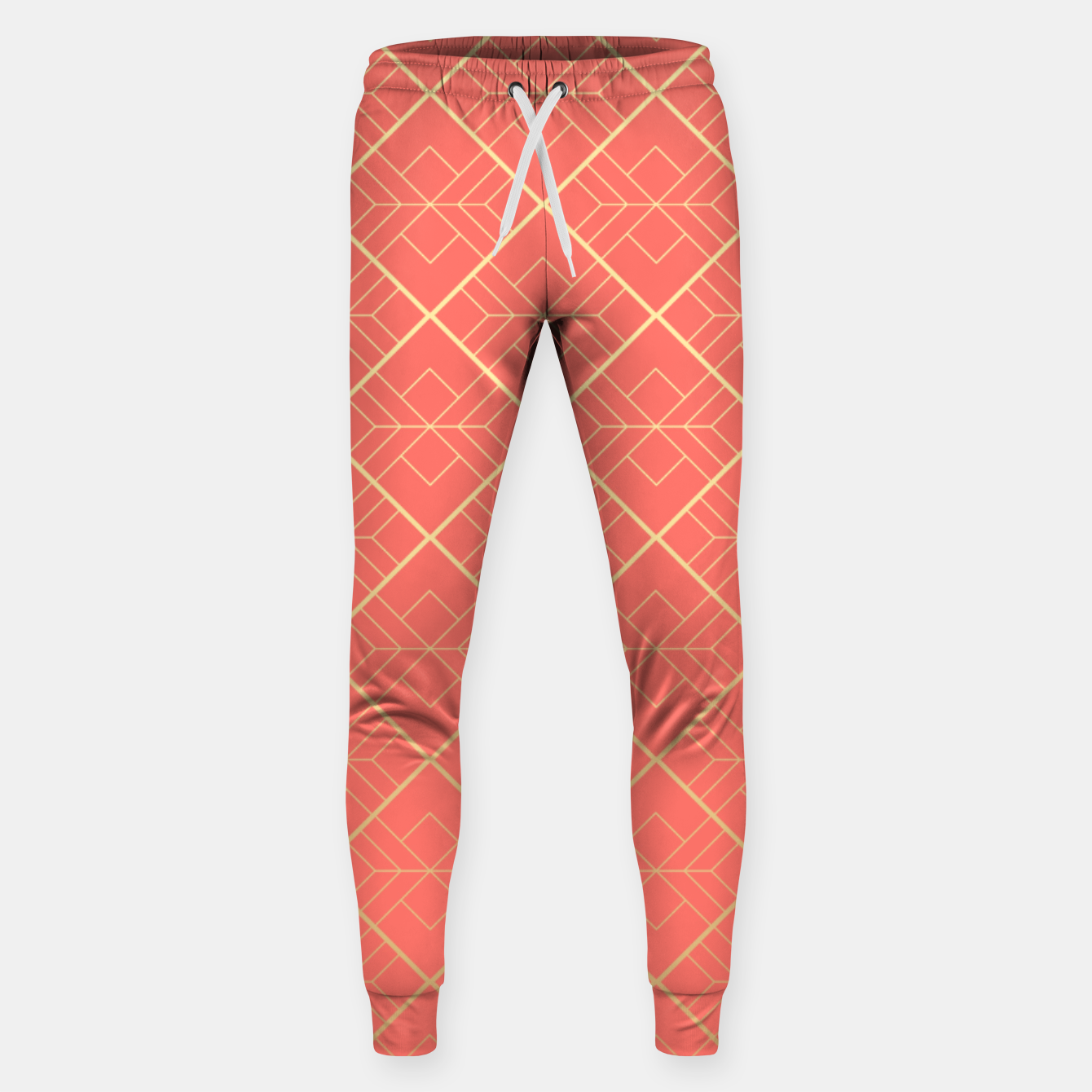Foto LIVING CORAL AND GOLD Sweatpants - Live Heroes