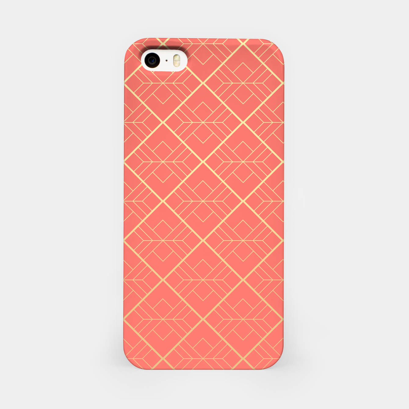 Foto LIVING CORAL AND GOLD iPhone Case - Live Heroes