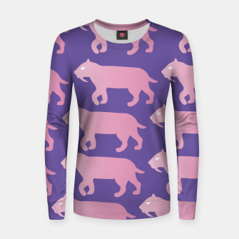 Thumbnail image of Cheshire Sol Twitch TV Emoji 2 Pink Women sweater, Live Heroes