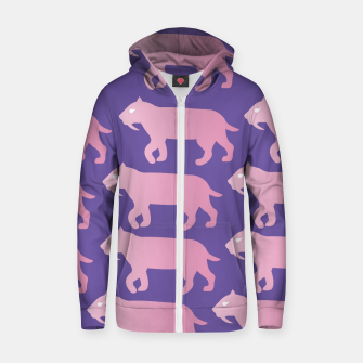 Thumbnail image of Cheshire Sol Twitch TV Emoji 2 Pink Zip up hoodie, Live Heroes
