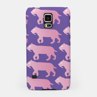Thumbnail image of Cheshire Sol Twitch TV Emoji 2 Pink Samsung Case, Live Heroes