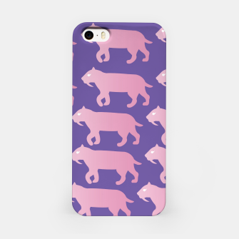 Thumbnail image of Cheshire Sol Twitch TV Emoji 2 Pink iPhone Case, Live Heroes