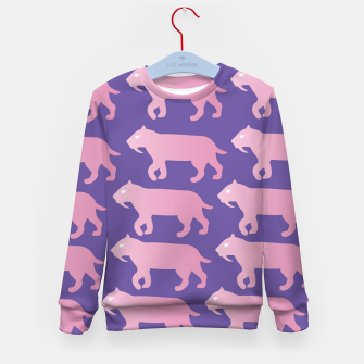 Thumbnail image of Cheshire Sol Twitch TV Emoji 2 Pink Kid's sweater, Live Heroes