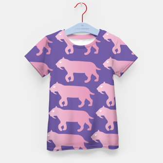 Thumbnail image of Cheshire Sol Twitch TV Emoji 2 Pink Kid's t-shirt, Live Heroes