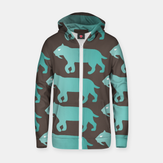 Thumbnail image of CheshireSol Twitch TV Emoji 2 Blue Zip up hoodie, Live Heroes