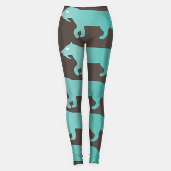 Thumbnail image of CheshireSol Twitch TV Emoji 2 Blue Leggings, Live Heroes