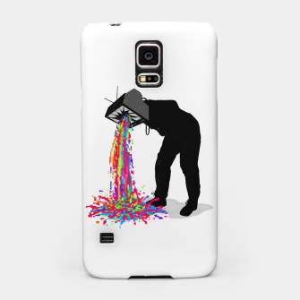 Thumbnail image of Pixel Vomit Samsung Case, Live Heroes