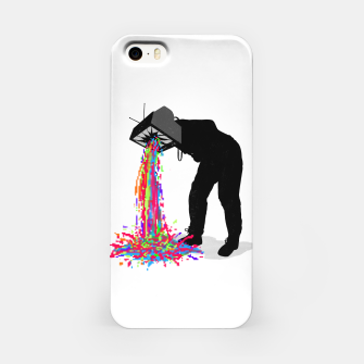 Pixel Vomit iPhone Case thumbnail image