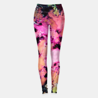 Thumbnail image of Flower shop Leggings, Live Heroes