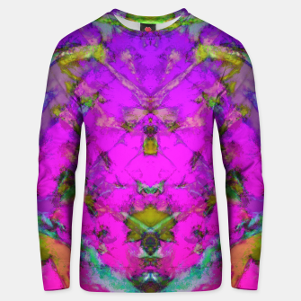 Little pink symmetry Unisex sweater thumbnail image