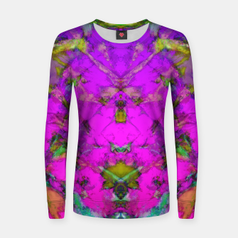 Little pink symmetry Women sweater thumbnail image