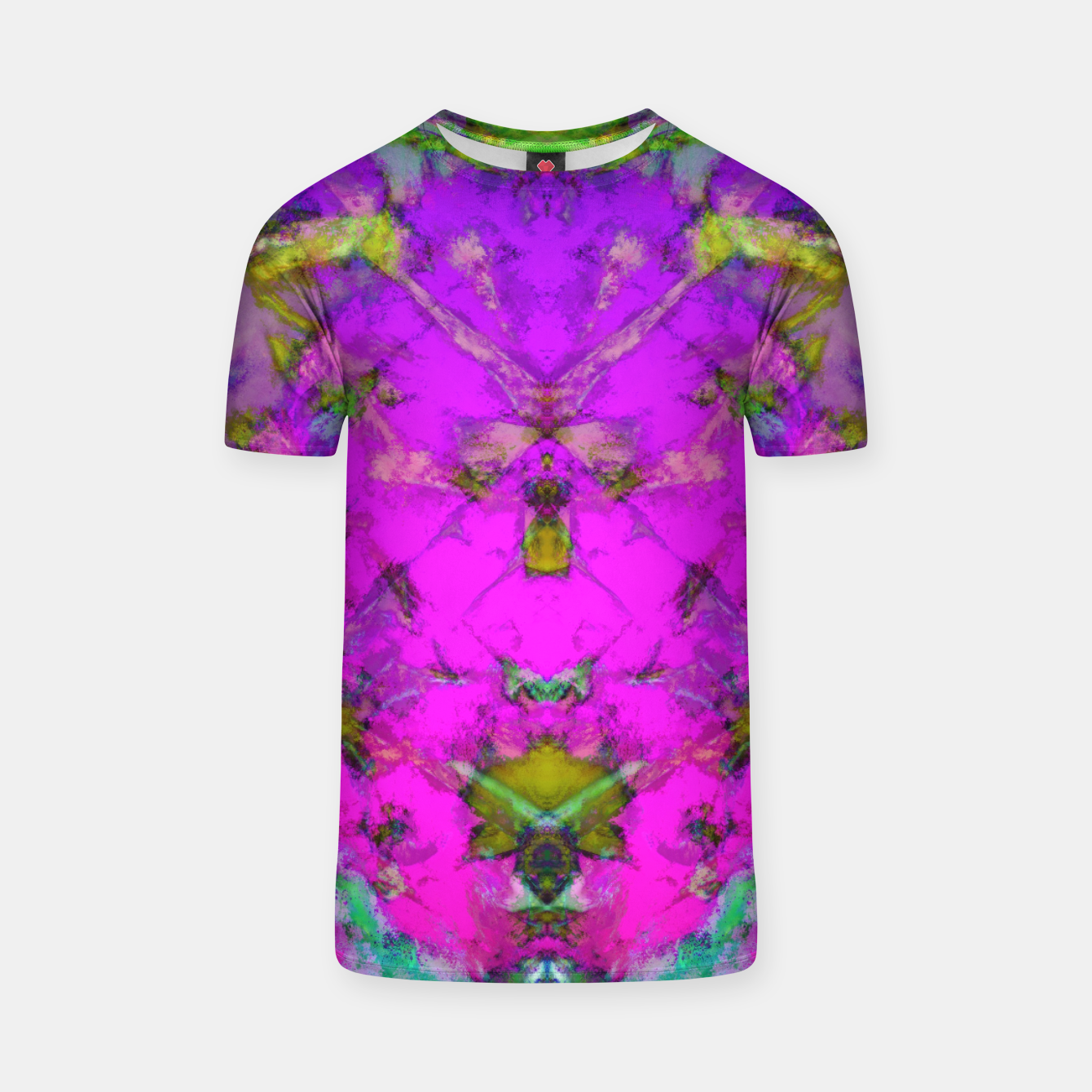 Image of Little pink symmetry T-shirt - Live Heroes