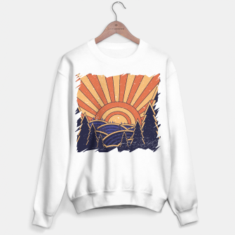 Miniatur 70s Retro Landscape Sweater regular, Live Heroes