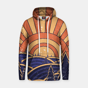 Thumbnail image of 70s Retro Landscape Hoodie, Live Heroes