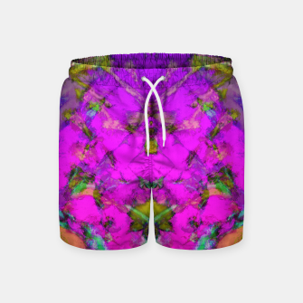 Little pink symmetry Swim Shorts thumbnail image