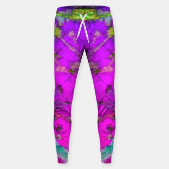 Little pink symmetry Sweatpants thumbnail image