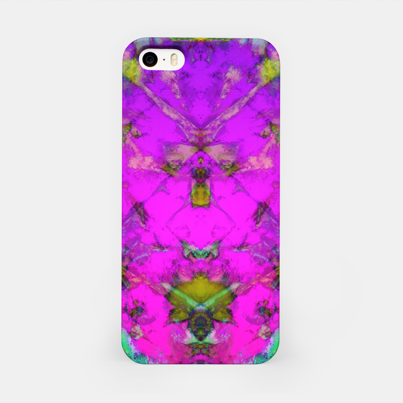 Image of Little pink symmetry iPhone Case - Live Heroes