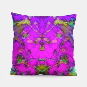 Little pink symmetry Pillow thumbnail image