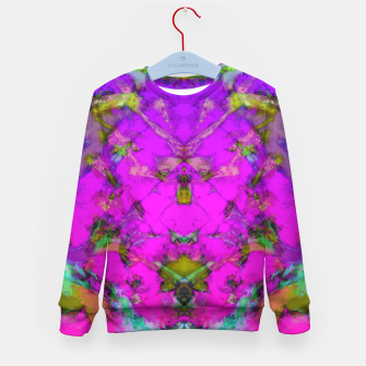 Thumbnail image of Little pink symmetry Kid's sweater, Live Heroes