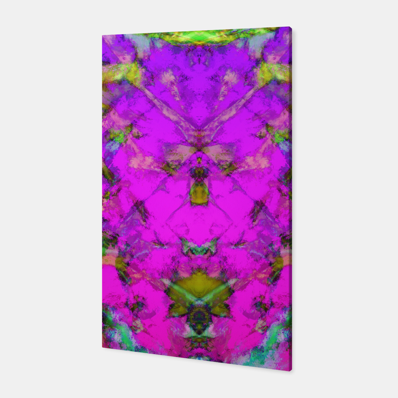 Image of Little pink symmetry Canvas - Live Heroes