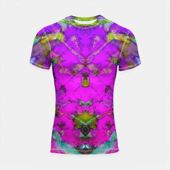 Little pink symmetry Shortsleeve rashguard thumbnail image