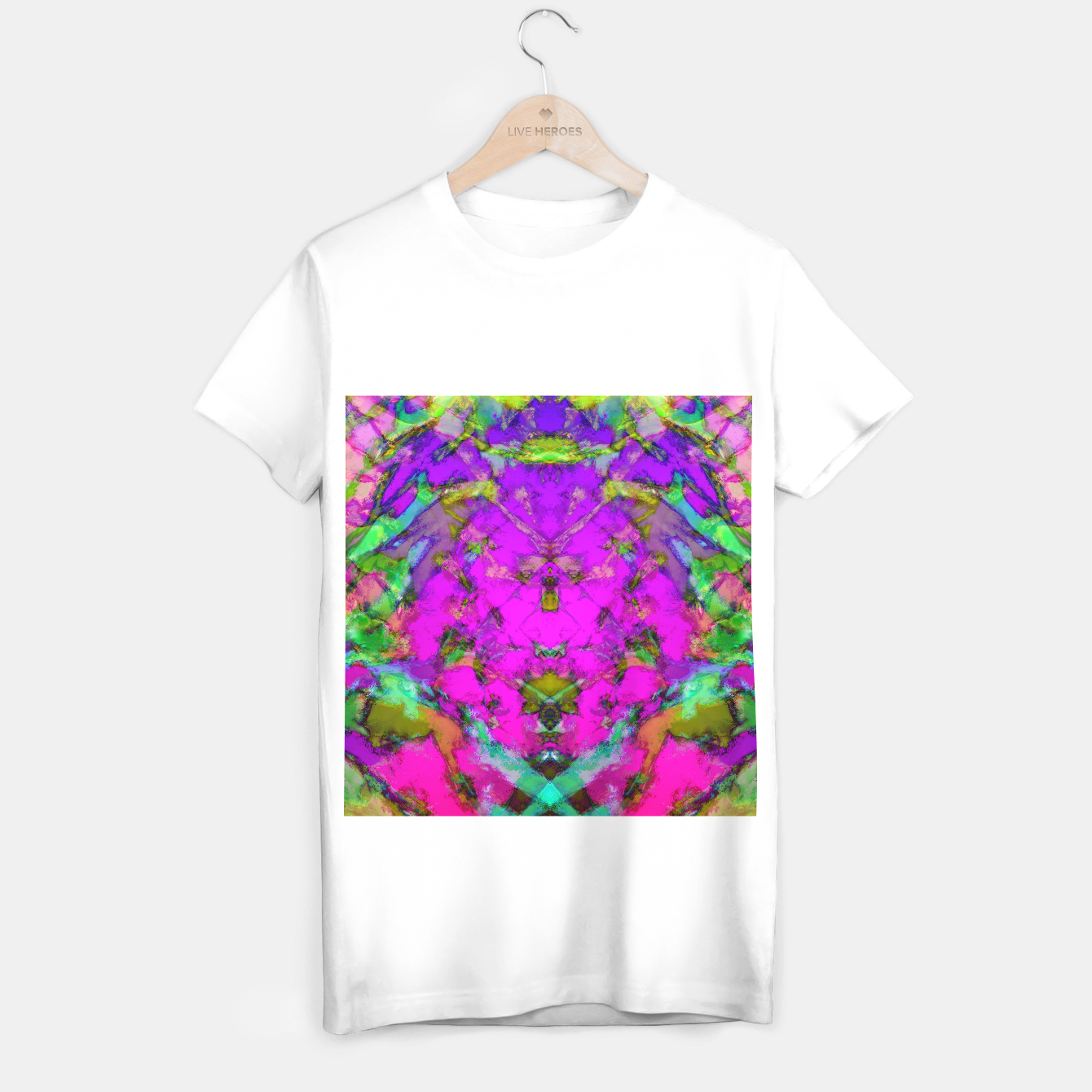 Image of Little pink symmetry T-shirt regular - Live Heroes