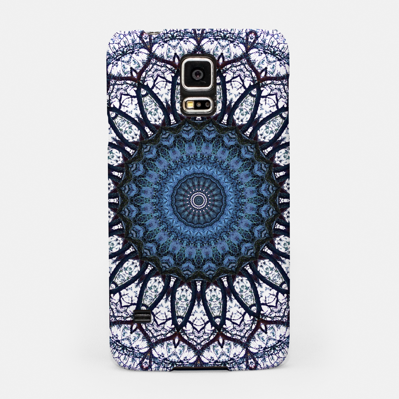 Foto Nature mandala blue bloom Samsung Case - Live Heroes