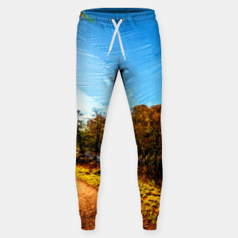 Thumbnail image of yorkshire river autumn digital oil painting Sweatpants, Live Heroes